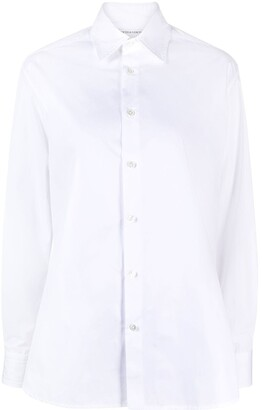 Bottega Veneta Long-Sleeve Cotton Shirt