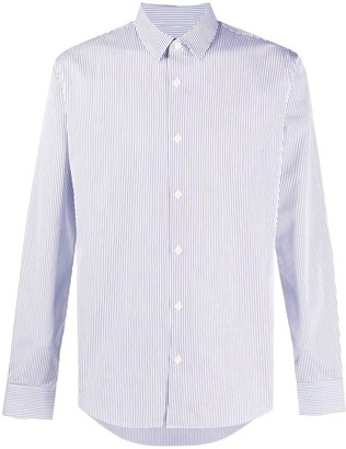 Sandro Paris Long Sleeve Linear Striped Shirt