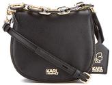 Karl Lagerfeld Women's K/Grainy Small Satchel Black