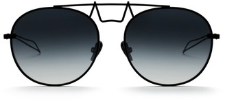 Saint Owen Crowley Round Sunglasses