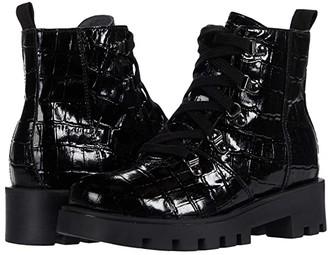 Naturino Bononia AW20 (Little Kid/Big Kid) (Black) Girl's Shoes