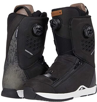 DC Travis Rice Dual BOA(r) Snowboard Boot (Brown) Men's Snow Shoes
