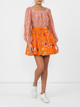 Lhd Raleigh Printed Mini Skirt