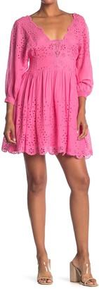 Free People Lottie Eyelet Dress