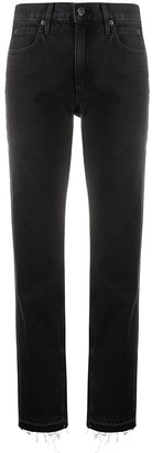 SLVRLAKE Rider straight leg jeans