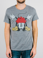 Junk Food Clothing Mickey Mouse Tee-steel-s