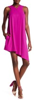 Rachel Roy Asymmetrical Pleated Jean Dress