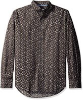 James Campbell Men's Caborca Long Sleeve Printed Neat