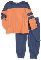 Splendid Infant Boy's Football T-Shirt & Jogger Pants