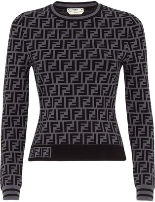 Fendi FF crew neck jumper