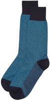 Bruno Magli Herringbone Dress Socks