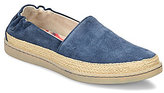 Børn Castries Distressed Suede Slip On Espadrilles