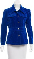 Marc Jacobs Pointed Collar Velvet Jacket w/ Tags