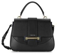 Calvin Klein Amara Faux Leather Satchel