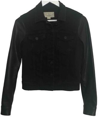 AllSaints Black Cotton Jacket for Women