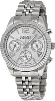 August Steiner Silver-Tone Ladies Watch AS8103SS