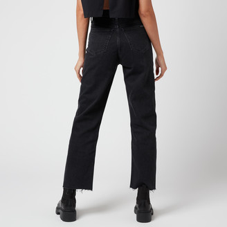 Calvin Klein Jeans Women's 030 High Rise Straight Ankle Jeans