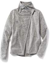 Old Navy Relaxed Go-Dry Open-Front Jacket for Girls