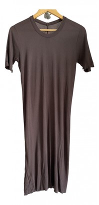 Rick Owens Brown Cotton T-shirts