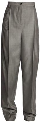 Acne Studios Stripe Wool Trousers