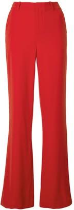 Alice + Olivia High-Rise Flared Trousers