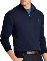 Polo Ralph Lauren Big and Tall Half-Zip Sweater