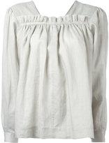 Joseph gypsy blouse - women - Silk/Ramie - 36