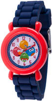 Sesame Street Boys Blue Strap Watch-Wss000041