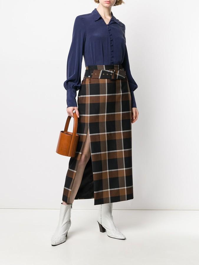 Thumbnail for your product : L'Agence Naomi silk shirt