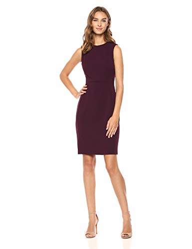 16391b79992 Calvin Klein Purple Sheath Dresses - ShopStyle