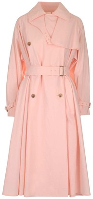 Max Mara Double-Breasted Trench Coat