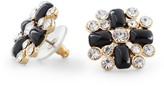 C. Wonder Crystal Bubble Flower Stud Earrings