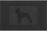 Bungalow Flooring Boston Terrier 2 Ft X 3 Ft Doormat