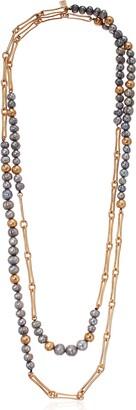 Robert Lee Morris Soho Women's Mixed Pearl & Bead Long Necklace