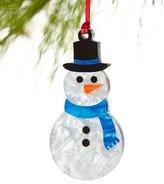 Edie Parker Snowman Christmas Ornament