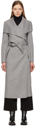 Mackage Grey Wool Mai Coat