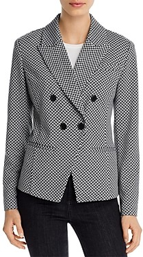 Bagatelle Double-Breasted Fitted Blazer