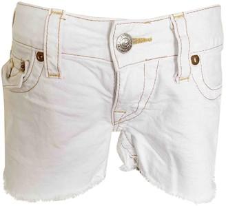 True Religion White Cotton Jeans for Women