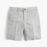 J.Crew Boys' Stanton short in striped linen