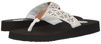 Yellow Box Benji (White) Women's Sandals