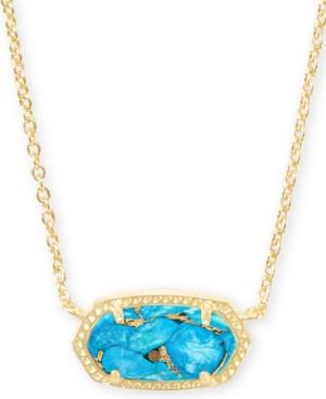"Kendra Scott Stone Pendant Necklace, 15"" + 2"" extender"
