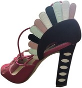 Paula Cademartori Multicolour Leather Sandals