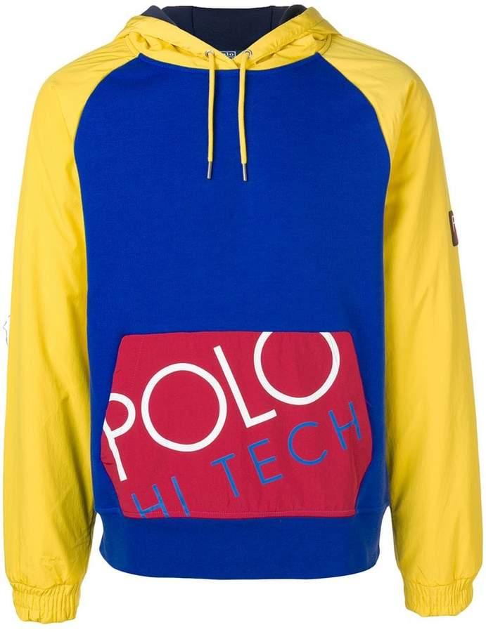Polo Ralph Lauren colour blocked sweatshirt