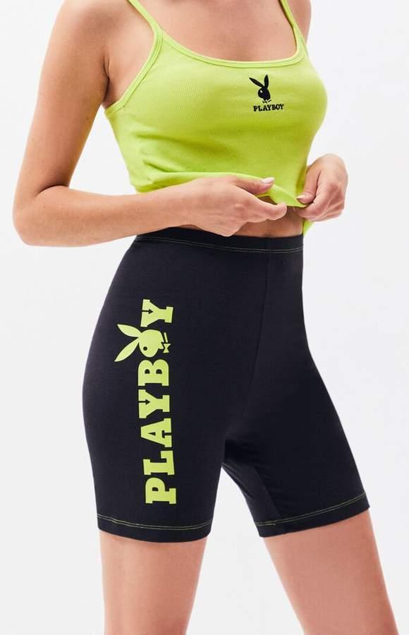 81e04b10 PacSun x Playboy Bike Shorts