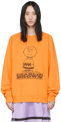 Marc Jacobs Orange Peanuts Edition Charlie Brown Sweatshirt