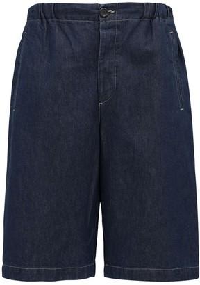 Gucci 32cm Cotton Denim Bermuda Shorts