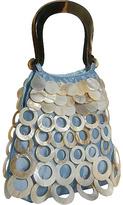 Global Elements Small Shell and Silk Handbag
