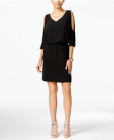 INC International Concepts Petite Cold-Shoulder Dress, Only at Macy's