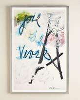"Rosenbaum Fine Art RFA Fine Art ""Paris"" Abstract Giclee"
