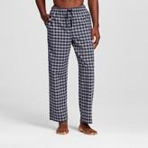 Merona Men's Poplin Sleep Pant Navy/Gray Gingham